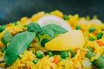 Paella mit Reiskocher